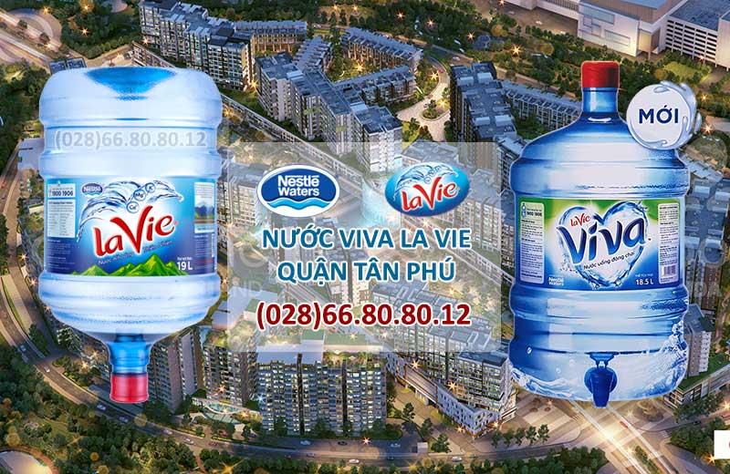 Nước tinh khiết ViVa LaVie quận Tân Phú