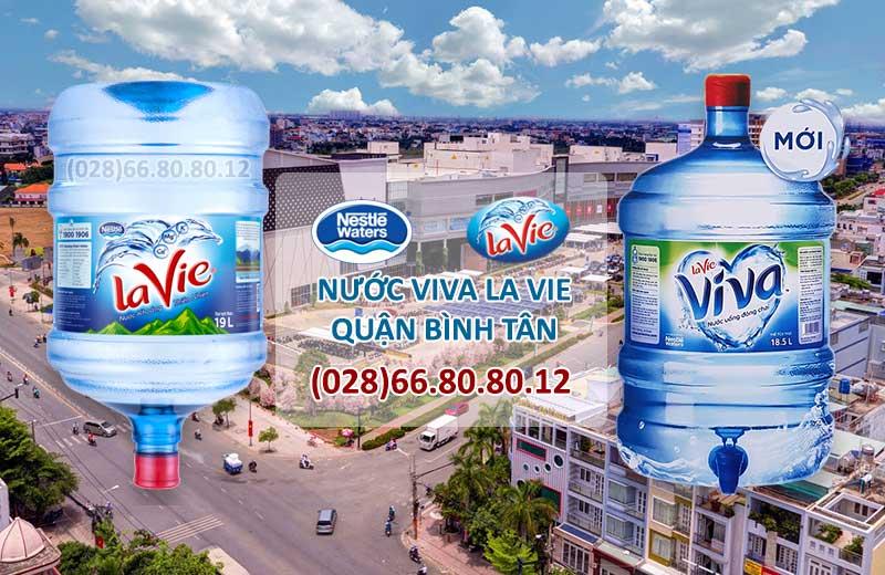 Nước tinh khiết ViVa LaVie quận Bình Tân